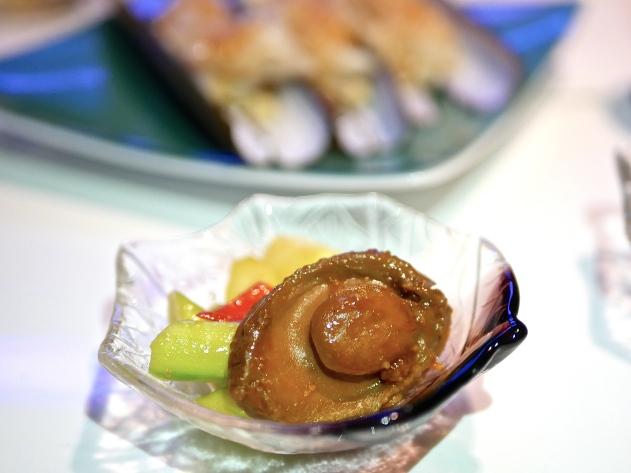 Stir-fried XO Abalone with Asparagus