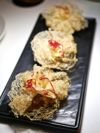 Black Pepper Cod Fish Dumpling