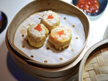 Steamed Shrimp and Pork Dumpling