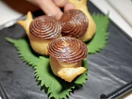 Escargot Cheese Puff
