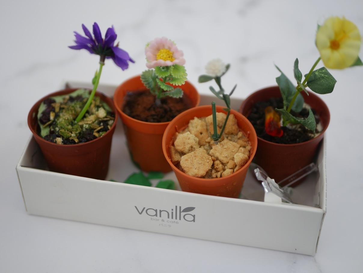 Pulut Hitam Matcha Dirt Cake (1 for $3, 4 for $10) - Vanilla Bar & Cafe