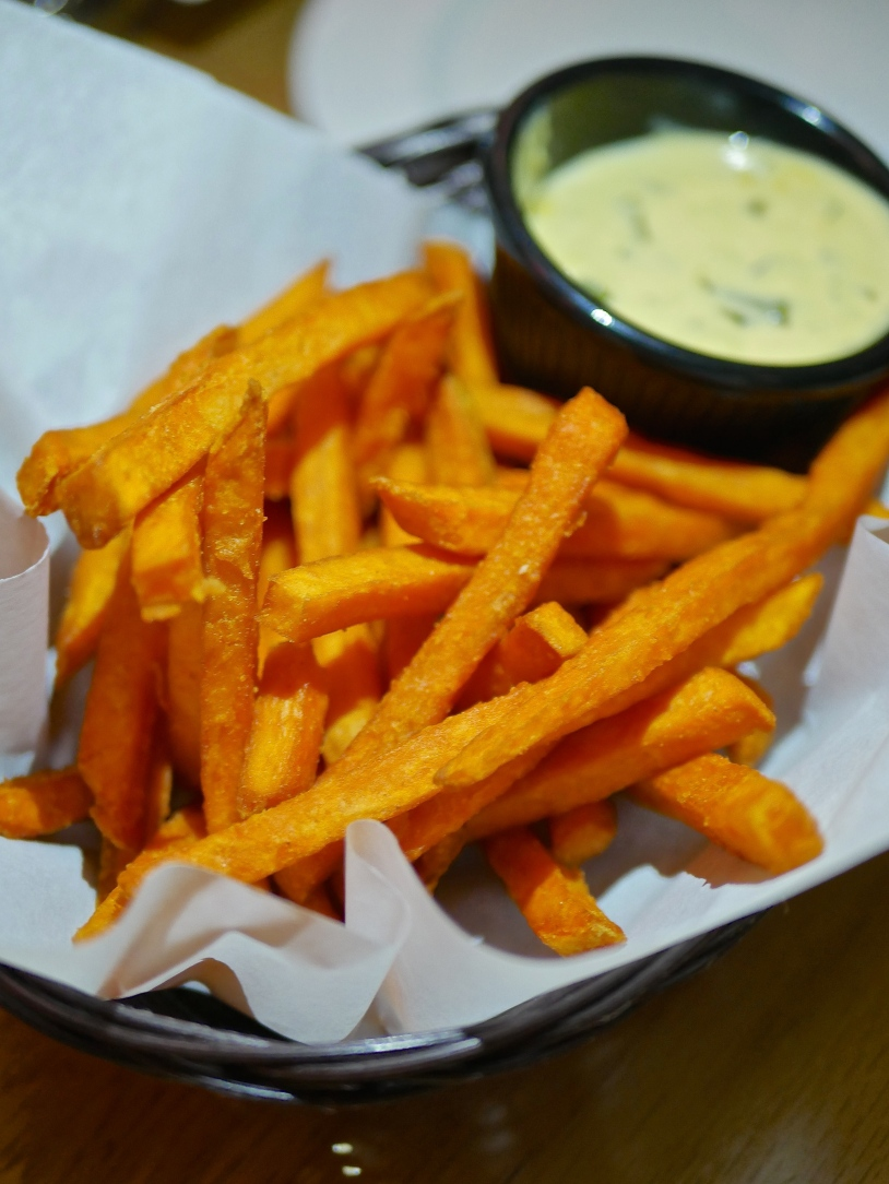 Sweet Potato Fries ($9.80)