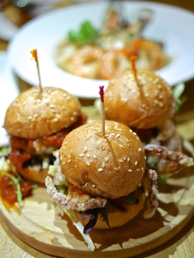 Chilli Crab Sliders ($16.80)