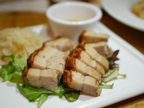 Crispy Roasted Pork Belly ($14.80)
