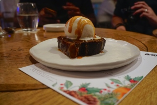 Sticky Toffee Pudding with Rum & Raisin Ice Cream