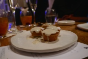 Mince Pie with Brandy Creme Anglaise