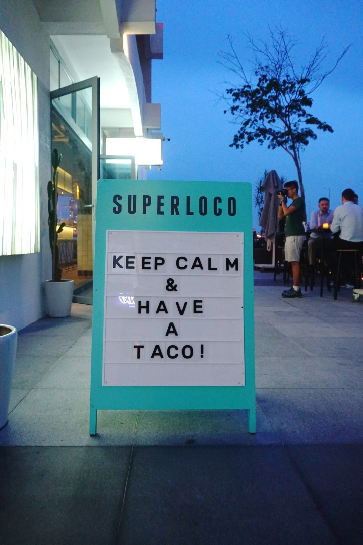 You'd have to be Super Loco to not love the food here!