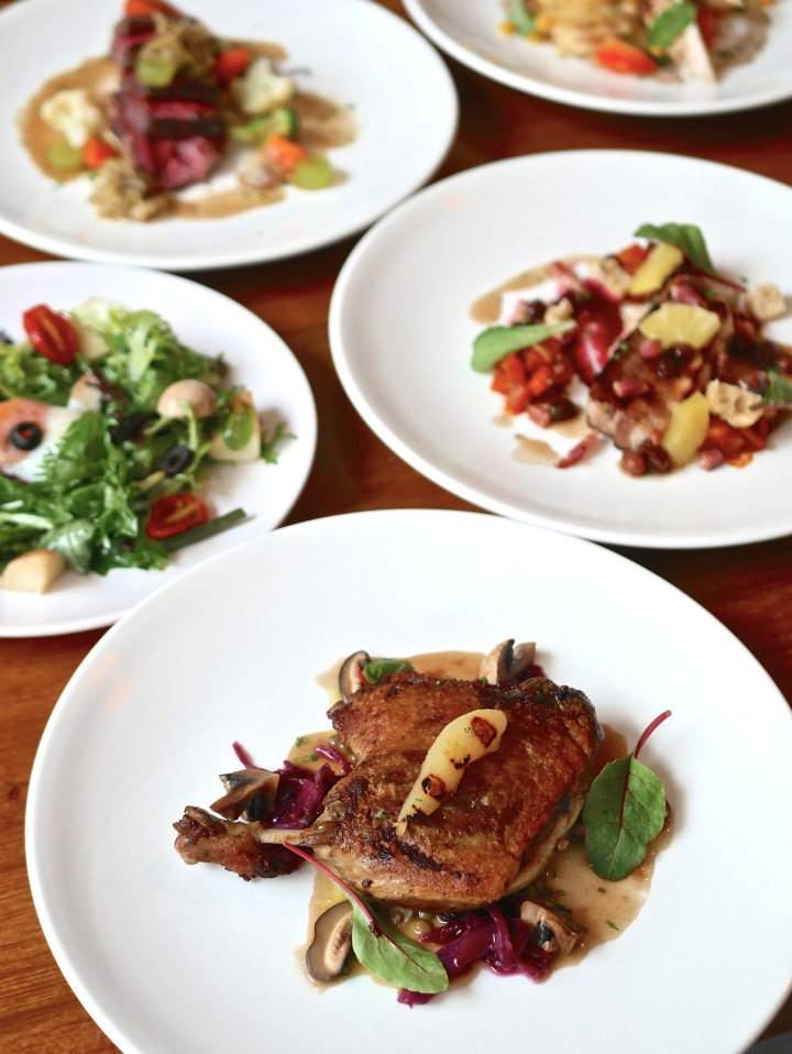 AROME French Bistro at Wild Market offers good value French cuisine sans the fancyfrills