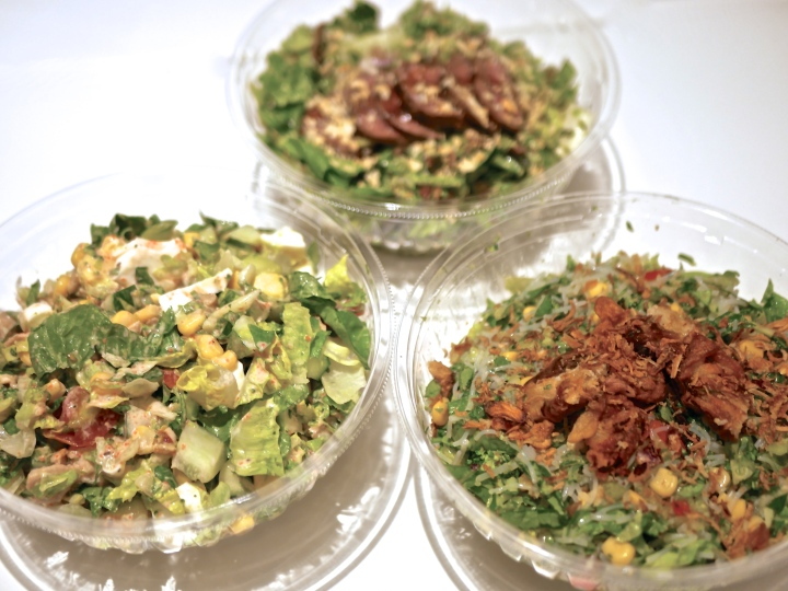 Tokyo Chopped Salad feat. Teppei Yamashita: Eating Bite-sized Salad with a Spoon