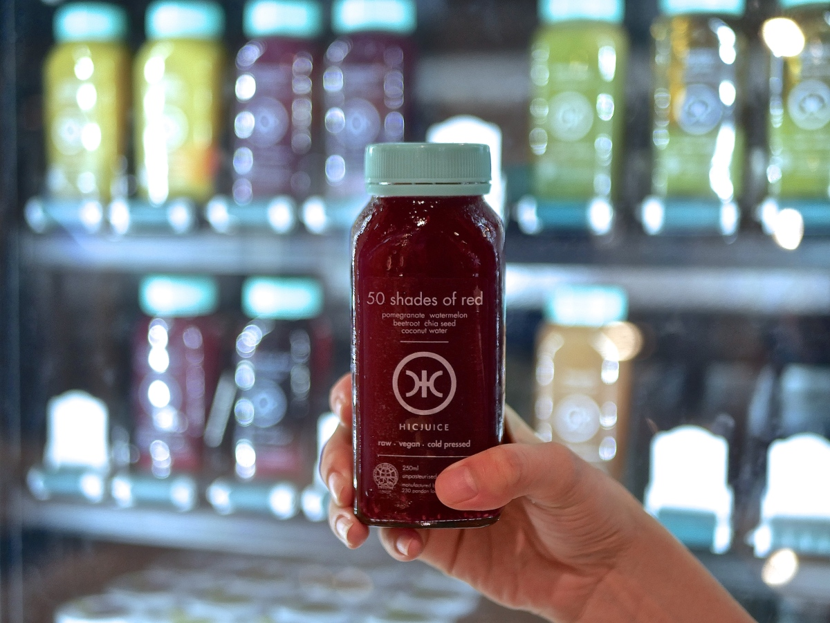 HICJUICE: Singapore's First Cold-pressed juice vending machine comes to CBD