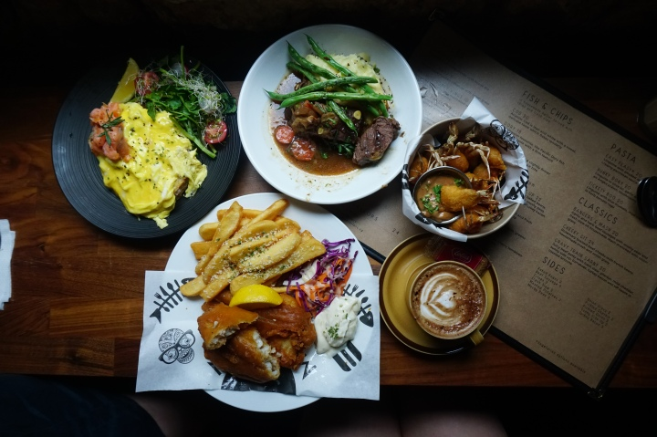 A brilliantly Brit brunch at The Mad Sailors