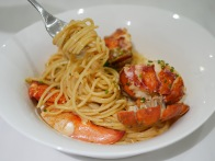 Poached Fresh Lobster Pasta ($26 Half / $48 Whole)