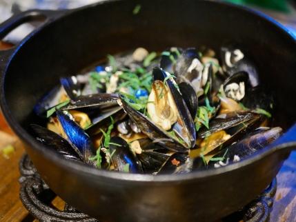 Norwegian Blue Mussels ($25)