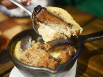 FireBake Bread and Pudding ($10)
