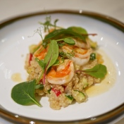 Cucumber & Sea Prawn Quinoa Salad ($11)