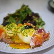 Lobster Benedict ($23)