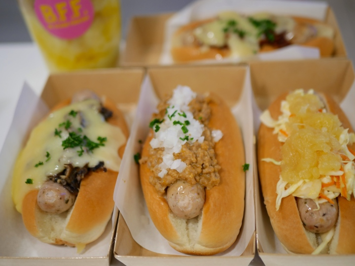 Be Frank: New Hot Dog Stand at Paragon Singapore