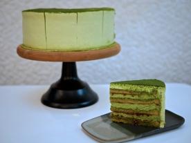 LE 'OMM' Matcha Cake