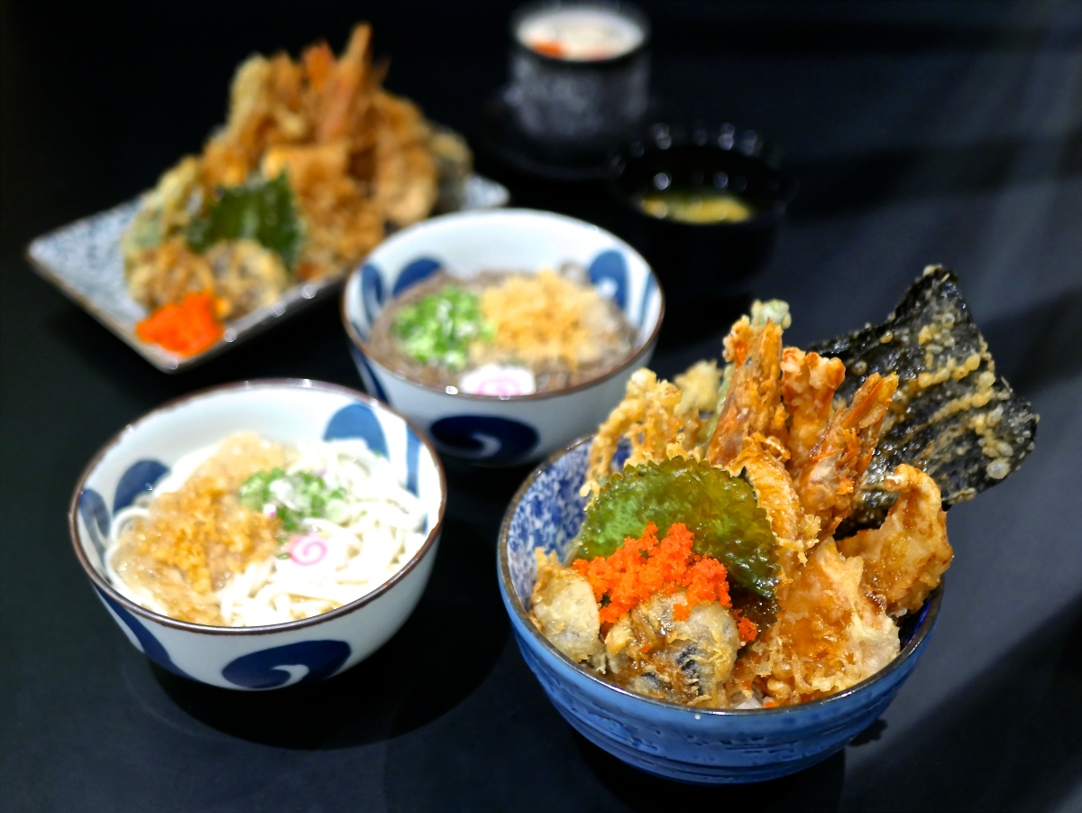 Where to find delightful Tempura Rice Bowls (Tendon) in Singapore