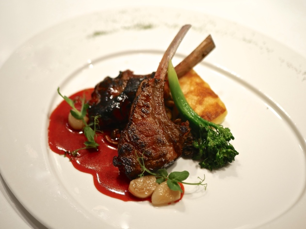 Pan-seared Char Siew Rack of Lamb ($29.90++)