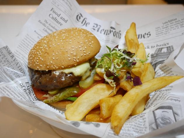 Cheesy Burger ($17.90++)