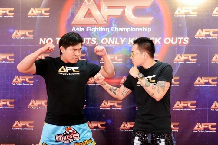 Asia Fighting Championship (AFC): Celebrity Face Off in Muay Thai Fight