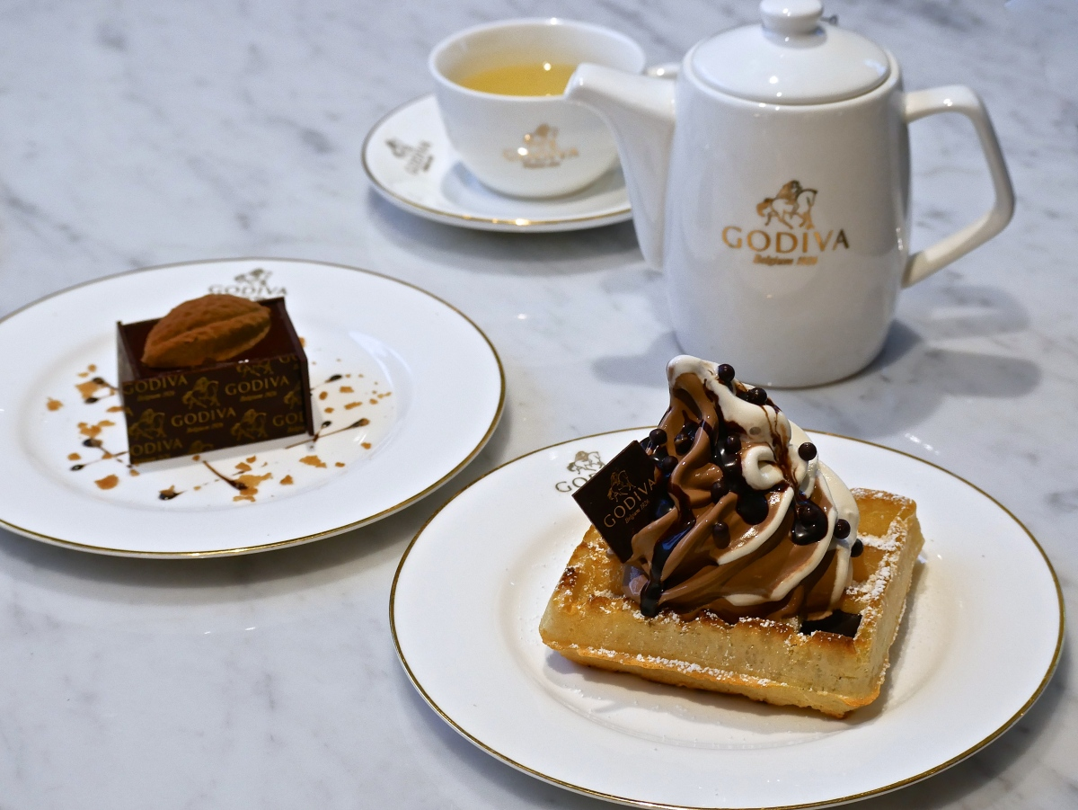 GODIVA Chocolatier debuts first Southeast Asia lifestyle concept cafe in Singapore