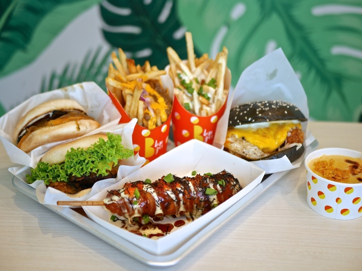 B Burger – Classic American Burgers with a little Japanese twist!