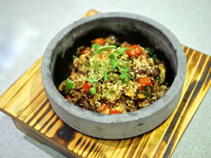 Sizzling Quinoa Brown Rice ($15.80)