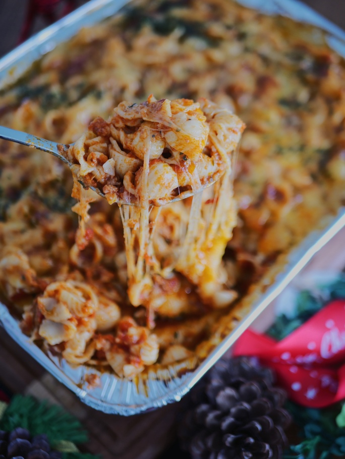 French Conchiglie With Ground Beef