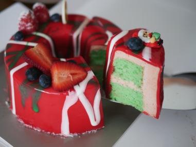 PANDAN Christmas Special Chiffon Cake