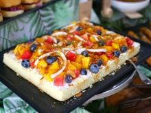 Tropical Fruit Sponge