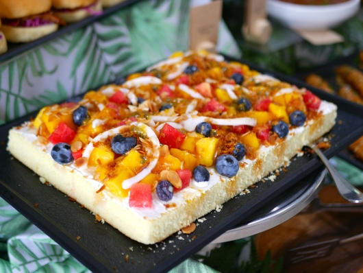 Tropical Fruit Sponge