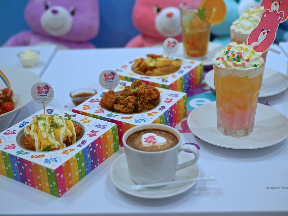 Care Bears Pop-Up Cafe at Kumoya Singapore