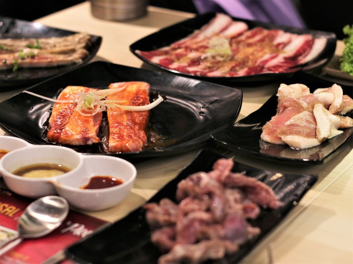 2-in-1 Jjigae and BBQ meats at SEORAE