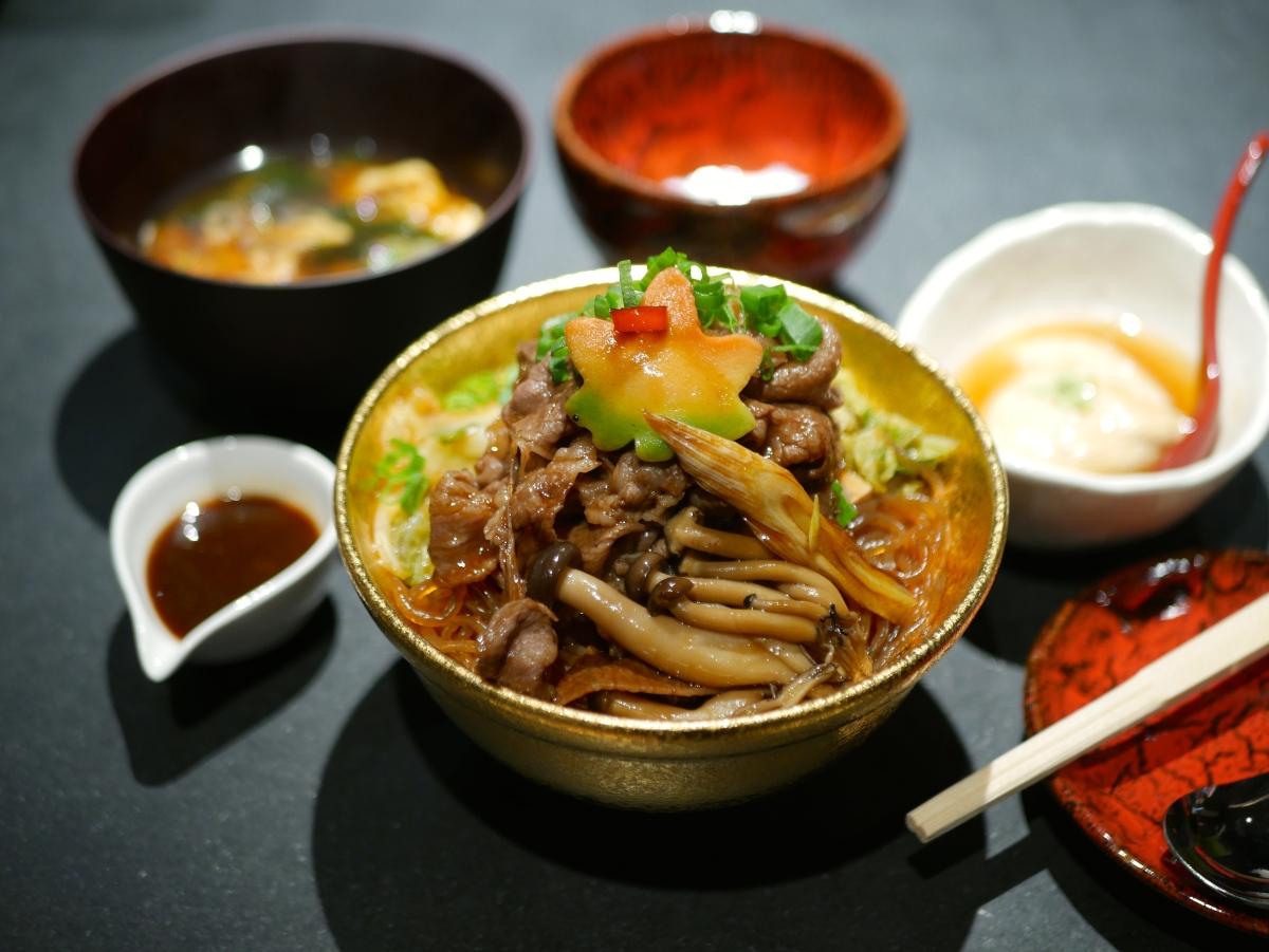 Jazzy New Japanese Beef Bowl Restaurant - Beef Sukiyaki Don Keisuke