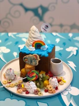 Candylicious Rainbow Fruity Shibuya Toast ($24.90)