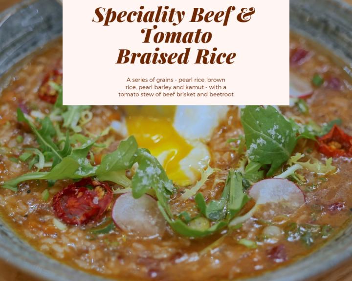 Beef Tomato Braised Rice