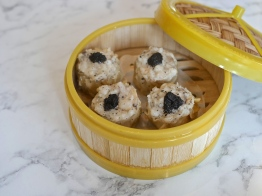 Steamed Siew Mai with Truffle ($7.50 for 4pcs)
