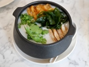 Premium Seafood Congee with Japanese seaweed ($13.80)