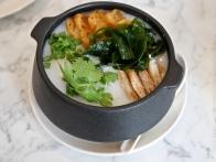 Premium Seafood Congee with Japanese seaweed ($13.80)