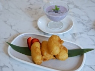 Deep-Fried Fresh Milk Curd ($6.80 for 4pcs)