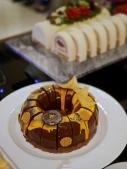 Jolly Chocolate, Blackcurrant Cherry Savarin Log Cake