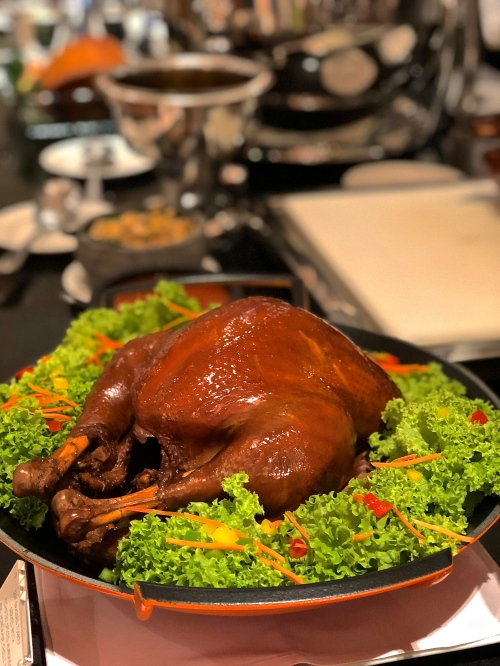 Soy-Braised Turkey with Toasted Spiced Almond