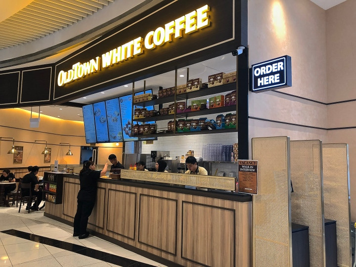 OldTown White Coffee Singapore Turning To Facial Recognition and Self Service Kiosk