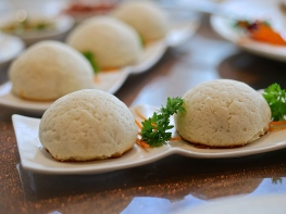 Baked BBQ Honey Pork Buns ($6.80)