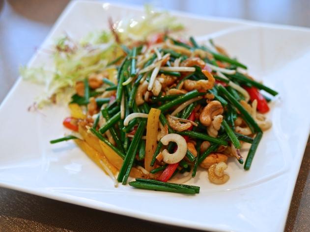 Stir-fried Assorted Vegetables and Cuttlefish ($28)