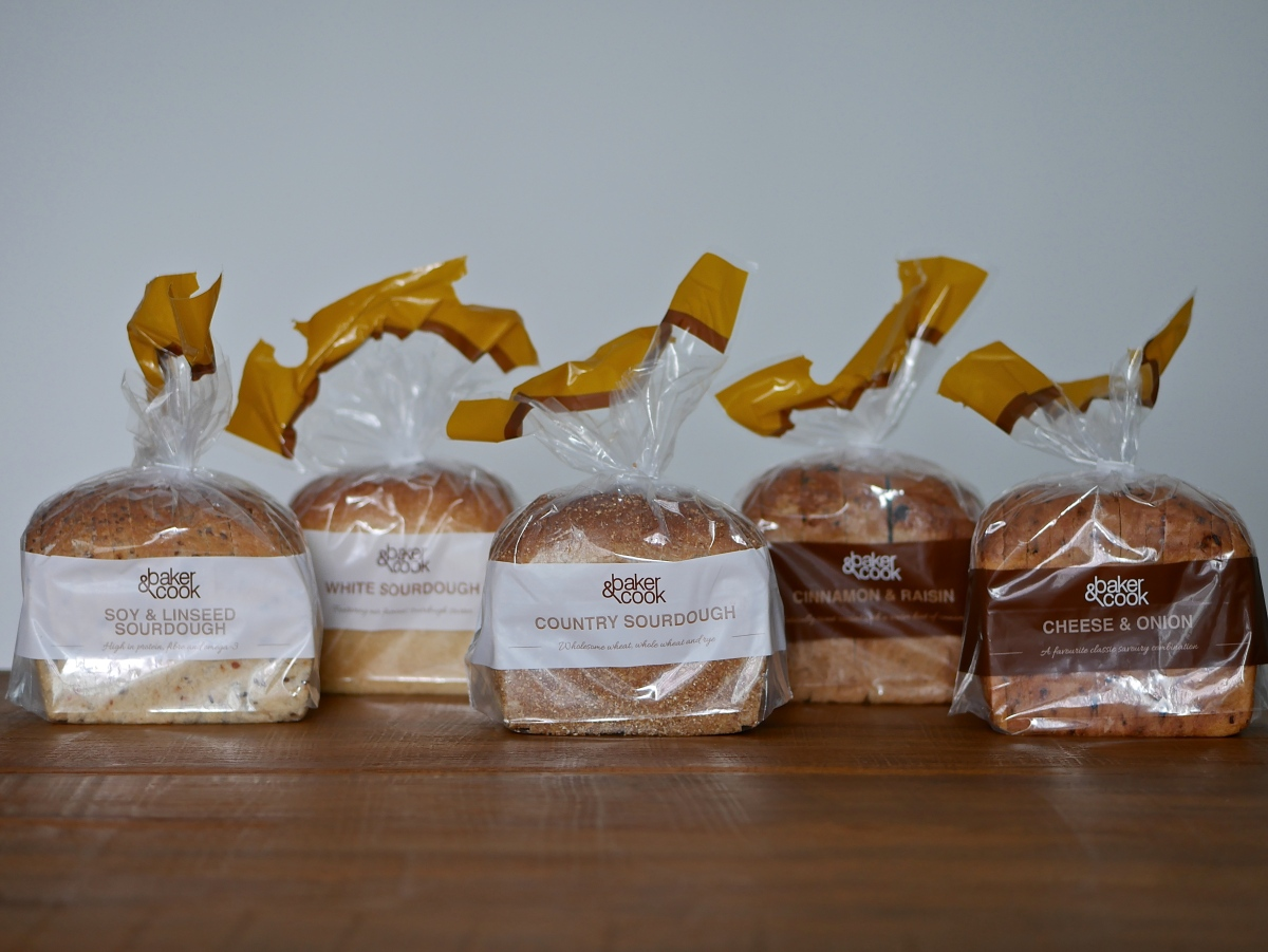Baker & Cook Debuts Bagged Artisan Sliced Bread In Supermarkets