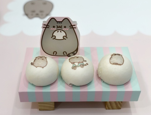 Pusheen Purrfect Special Green Tea Buns ($10.90)