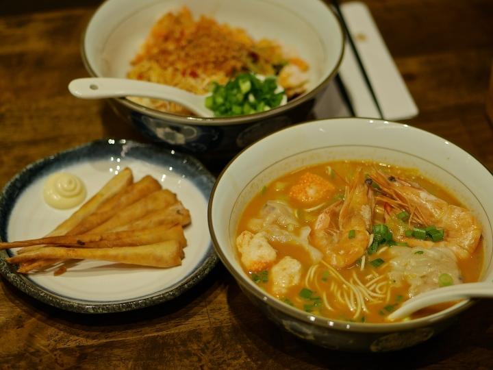 Le Shrimp Ramen – Japanese-inspired Chinese La Mian atParagon